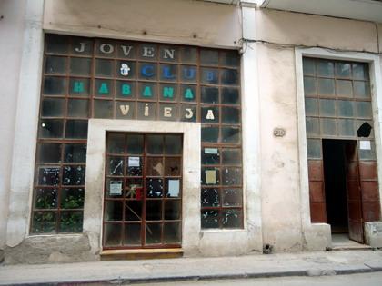 Joven club calle muralla reconciliaci n cubana for Club joven mural
